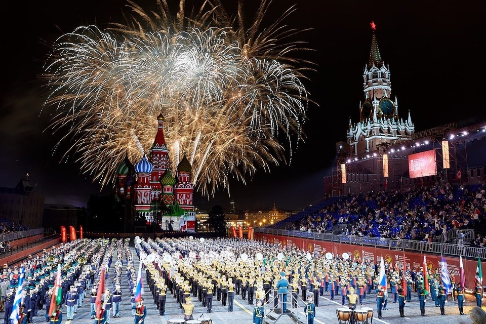 «Ростелеком» поддержал XIV Международный военно-музыкальный фестиваль «Спасская башня», который прошел с 27 августа по 5 сентября на Красной площади в Москве
