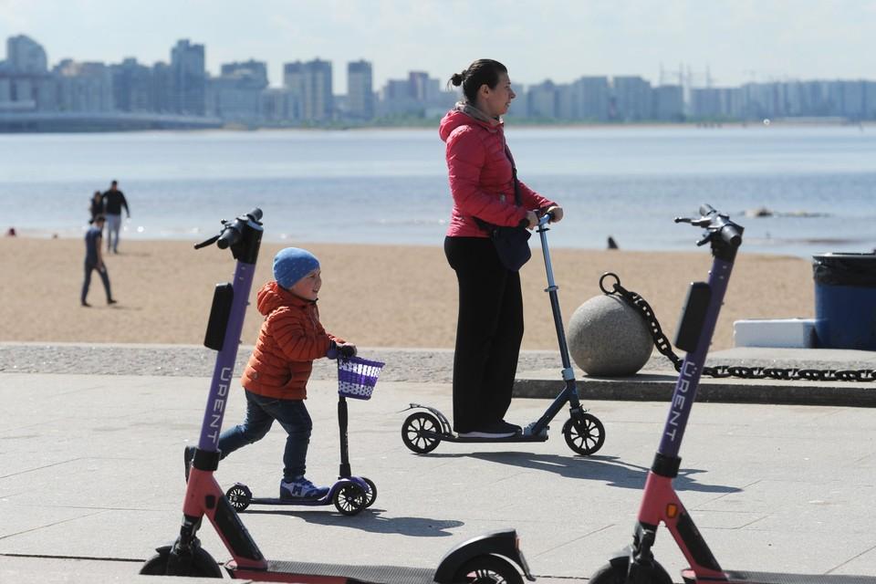 Петербург стал лидером в 2021 году по количеству ДТП с детьми на электросамокатах