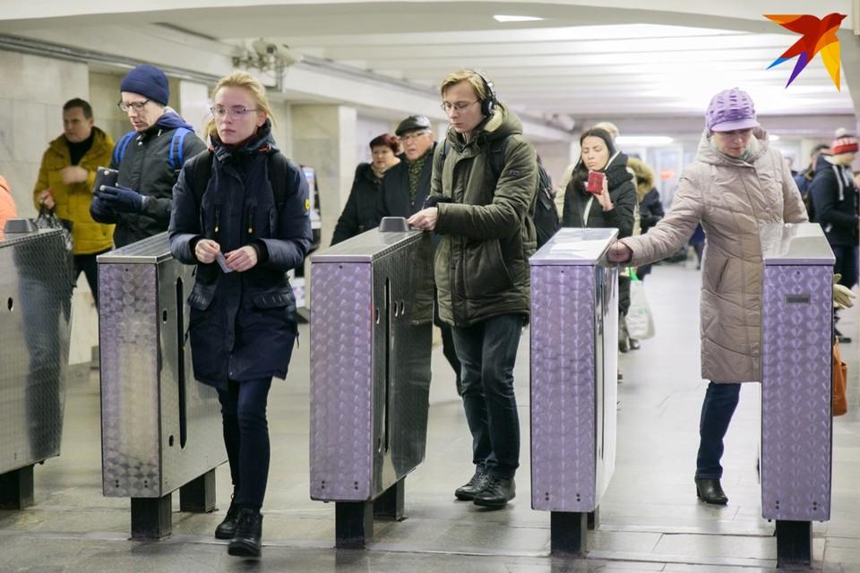 Метро в Минске в День города 11 сентября будет работать по субботнему графику, правда, интервал движения поездов скорректировали
