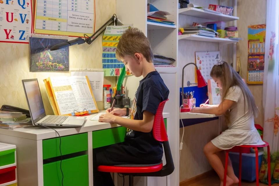 В Петербурге шесть классов в пяти школах закрыли на карантин по коронавирусу.