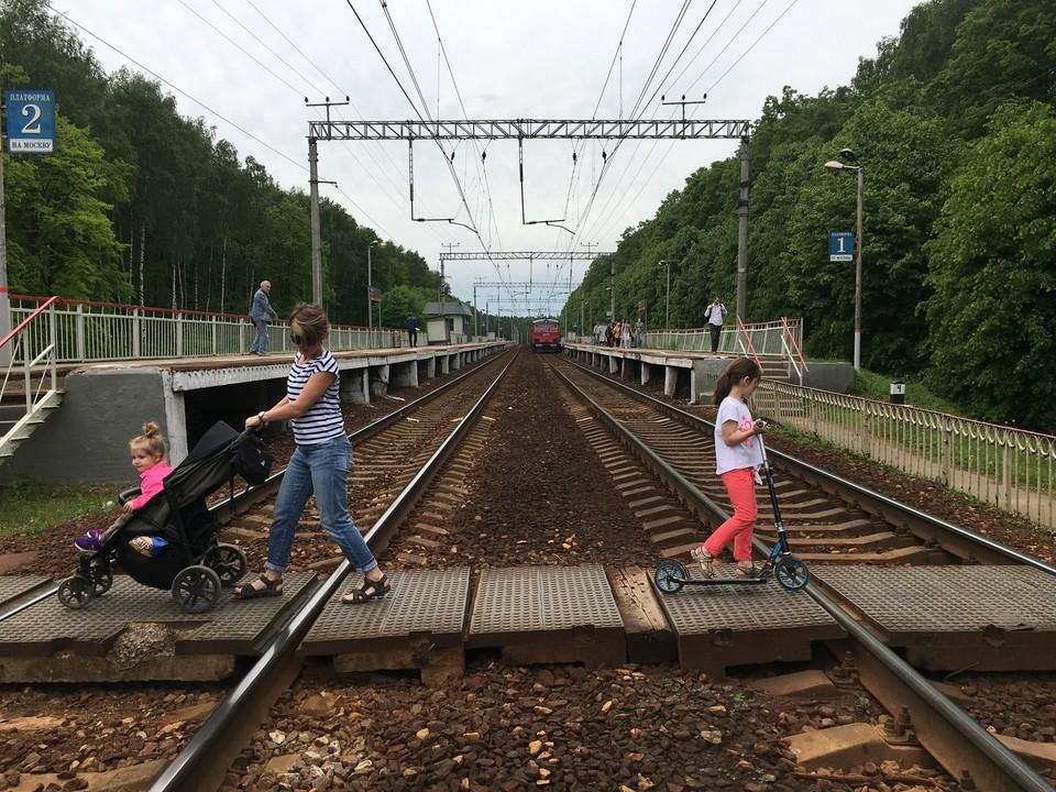 Железная дорога - не место для прогулок.