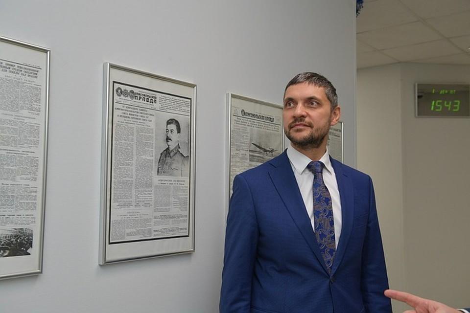 Александр Осипов, губернатор Забайкалья