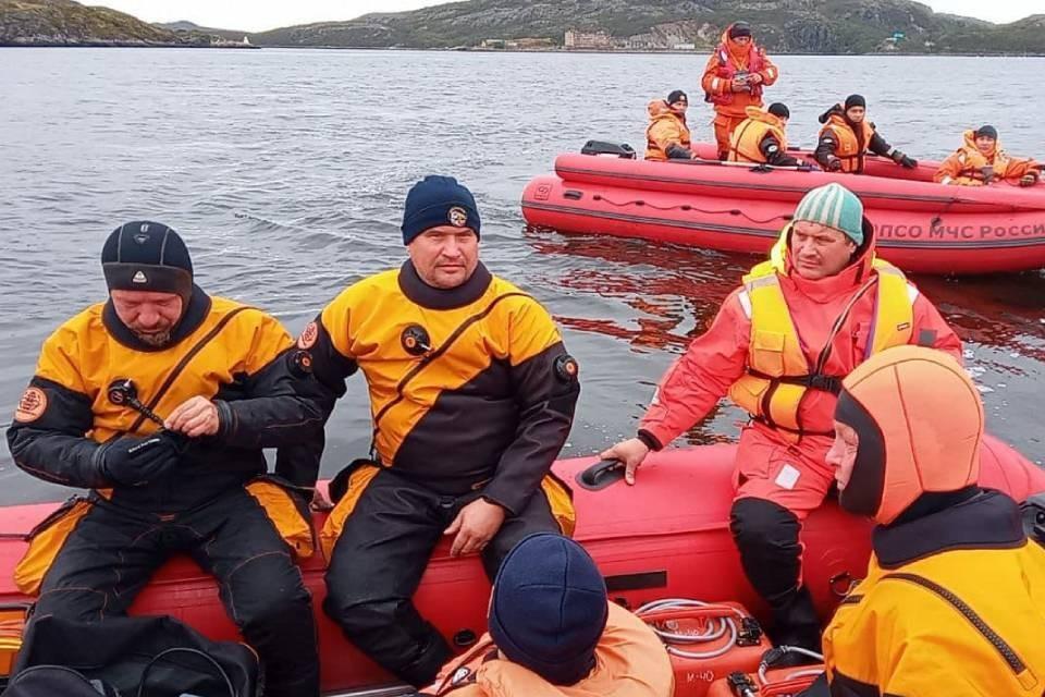 Поиски пропавших рыбаков приостановили до утра. Фото: МЧС по МО