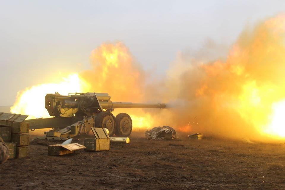 Шесть населенных пунктов ДНР были обстреляны ВСУ за прошедшие сутки. Фото: пресс-центр штаба ООС