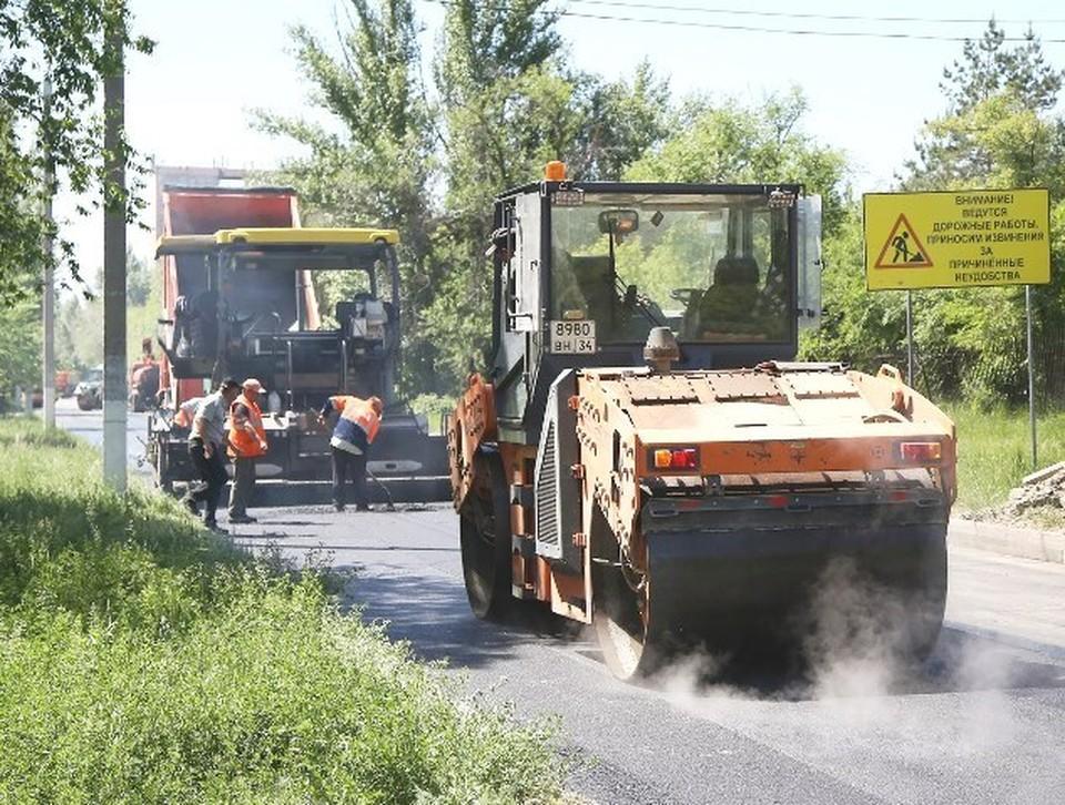 В Волгограде начались аукционы по поиску подрядчиков для ремонта дорог в 2022 году. Фото: мэрия Волгограда