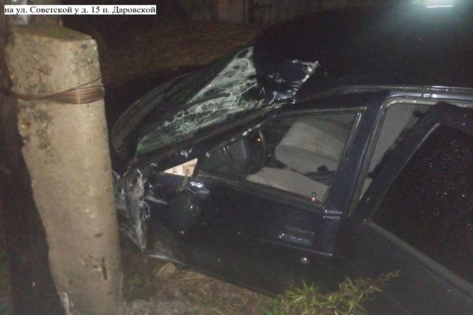 По результатам медэкспертизы в момент ДТП водитель был в состоянии алкогольного опьянения. Фото: vk.com/gibdd43