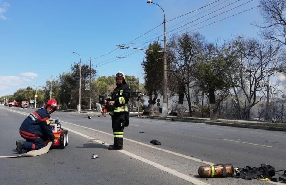 В Волгограде начался суд над начальником взорвавшейся газовой заправки. Фото: ГУ МЧС России по Волгоградской области