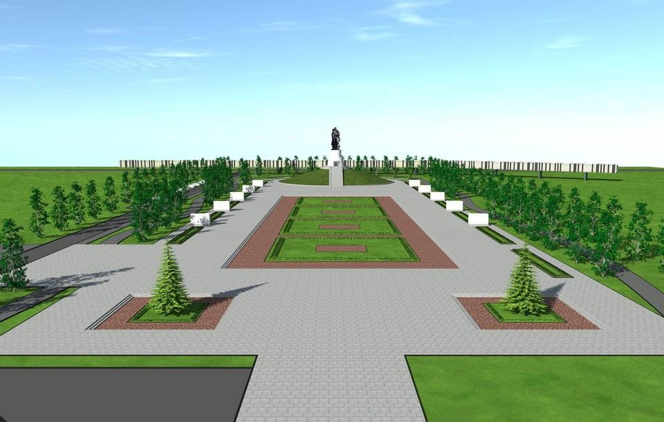 Мемориальный комплекс будет возле Президентского кадетского училища. Фото: АПК