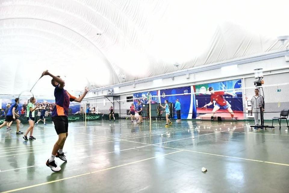 Приобрели инвентарь для настольного тенниса и бадминтона