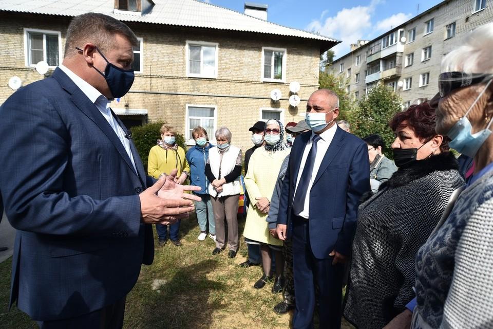 Глава области с жителями скопинского территориального общественного самоуправления