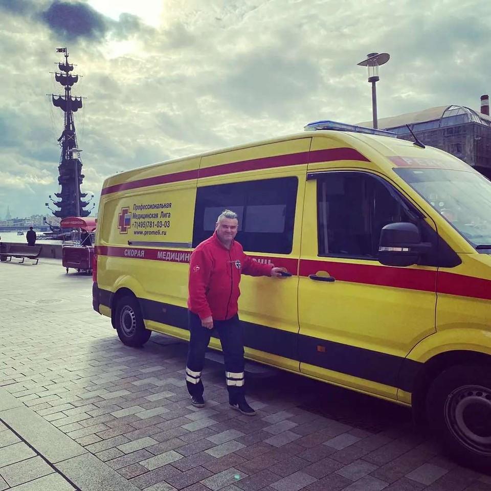 Олег Шульга отмечает, что к врачам в столице хорошее отношение Фото: https://www.instagram.com/shulz_ak111/