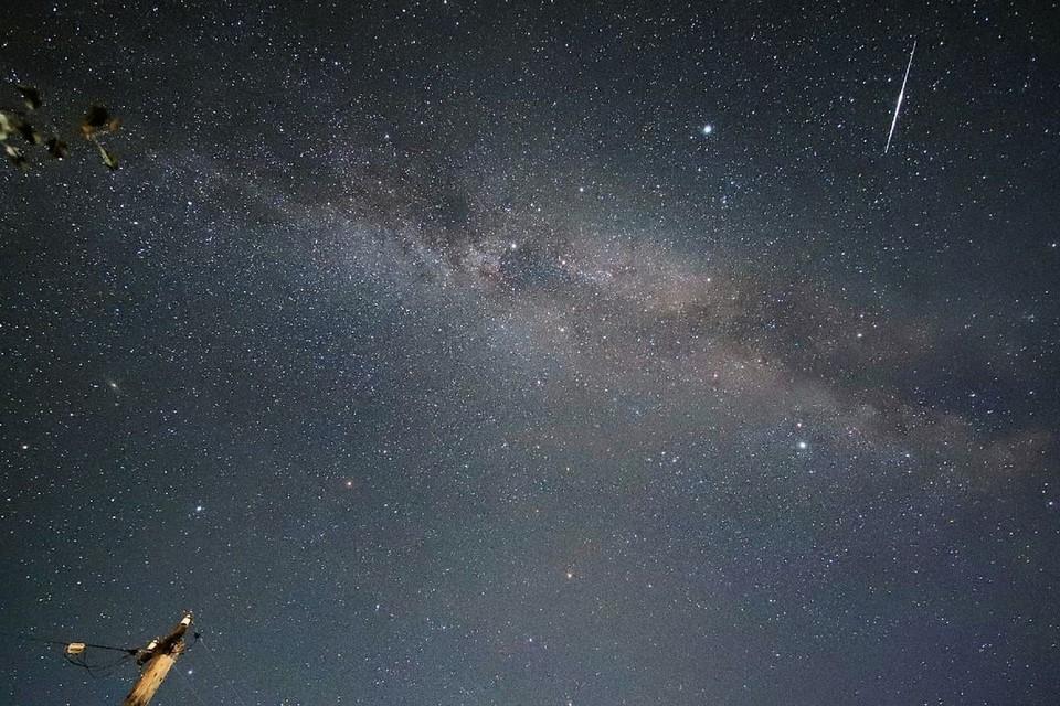 Фотограф заснял Млечный путь. Фото: Николай БАЯНОВ