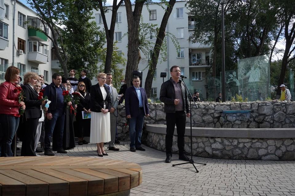 Открытие прошло накануне Дня города. Фото: правительство Самарской области.