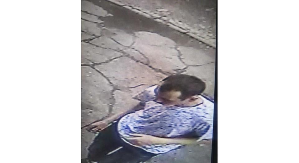 Насильник попал на запись камеры наружного наблюдения. Фото: СУ СКР по Пермскому краю.