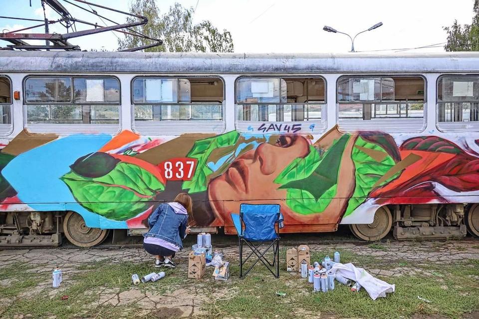 Обновленный трамвай поедет по улицам города 12 сентября. Фото: vk.com/samaraadm.