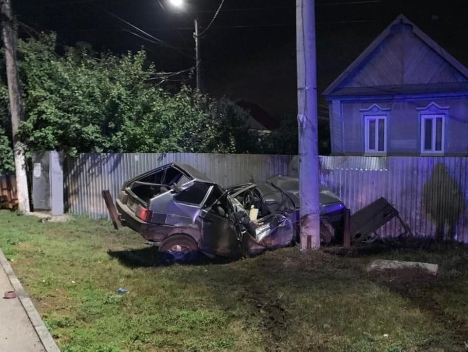 По предварительным данным, водитель ехал на небезопасной скорости