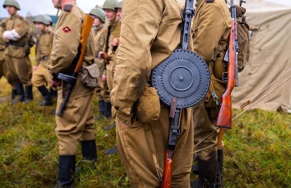 В Ханты-Мансийске провели военно-исторический фестиваль «Штурм-2021» Фото: Пресслужба Правительства Югры