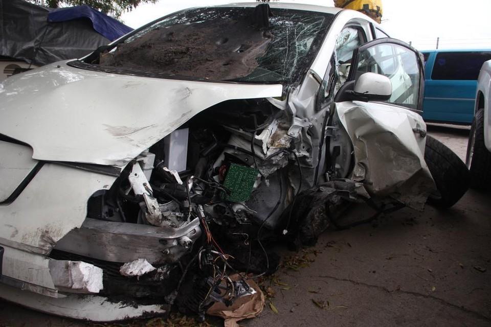 В ДТП столкнулись две машины, водители обеих машин погибли
