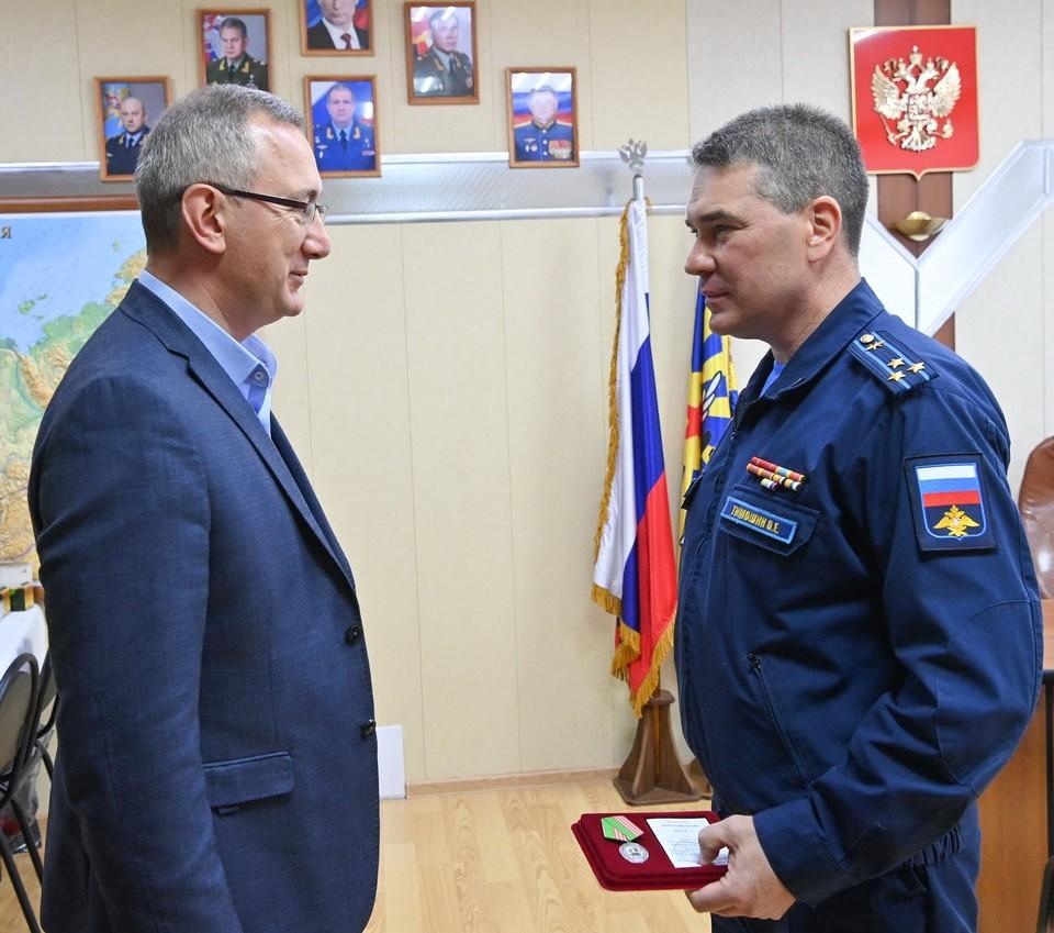 Владислав Шапша и Олег Тимошин.