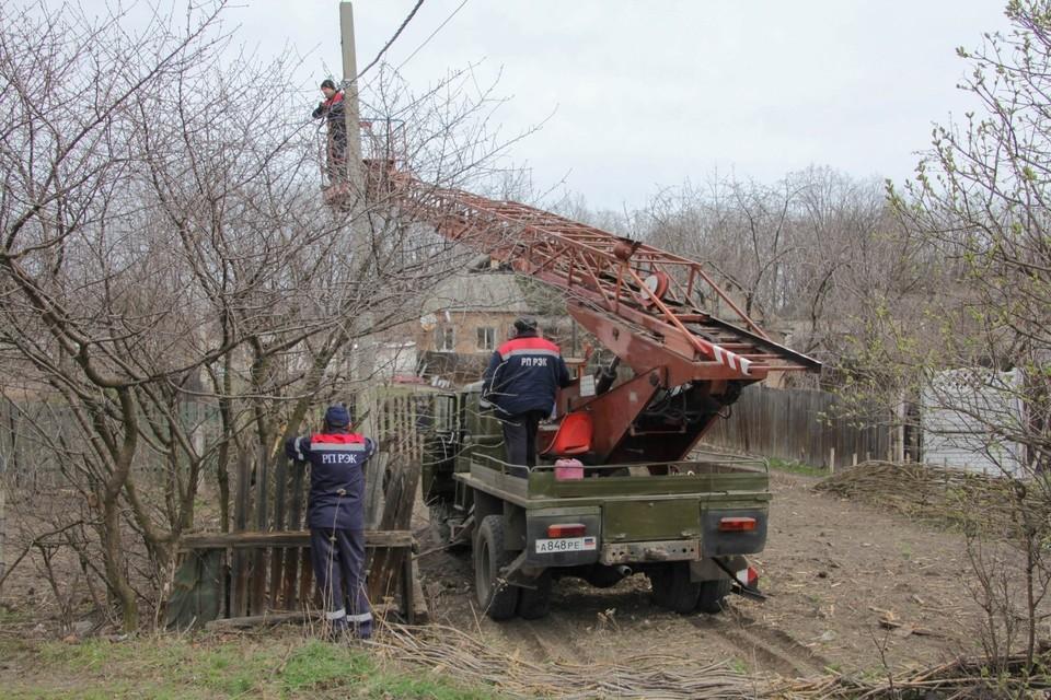 Жители Старомихайловки остаются без электричества уже пятый день