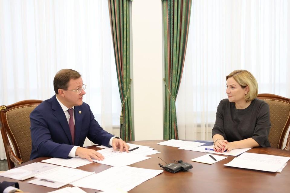 Дмитрий Азаров встретился с министром культуры РФ Ольгой Любимовой