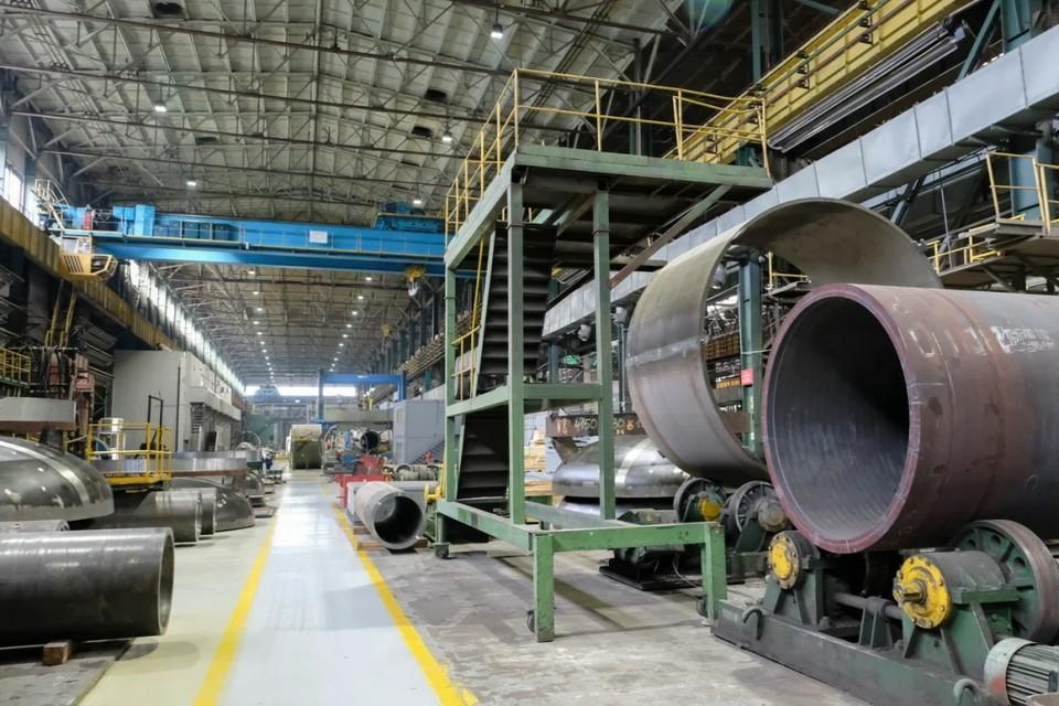 В Петербурге построят новый завод по производству труб.