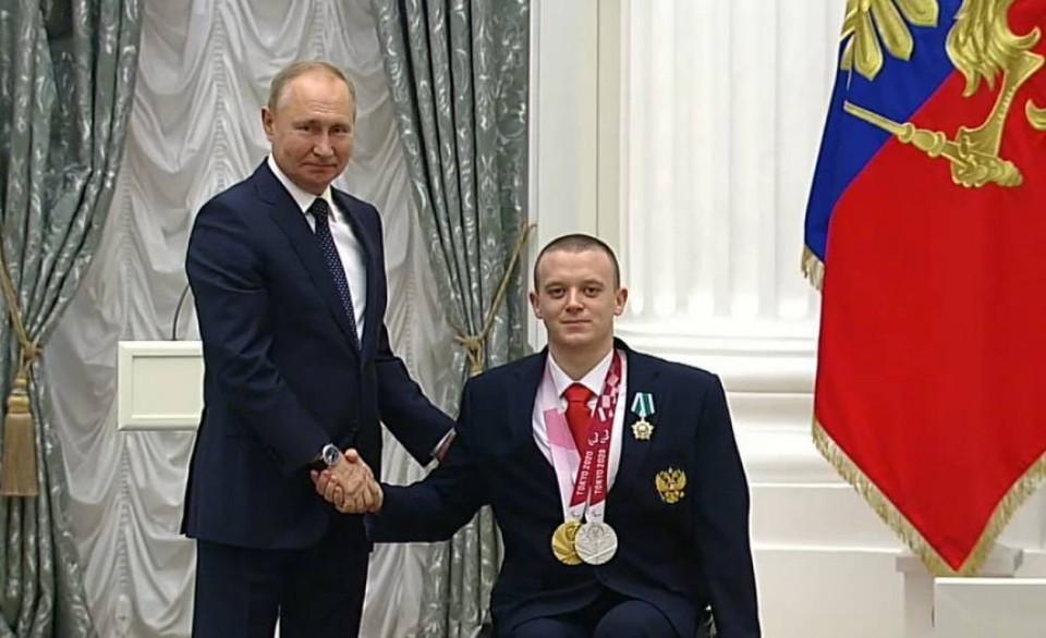 Андрей Граничка и Владимир Путин