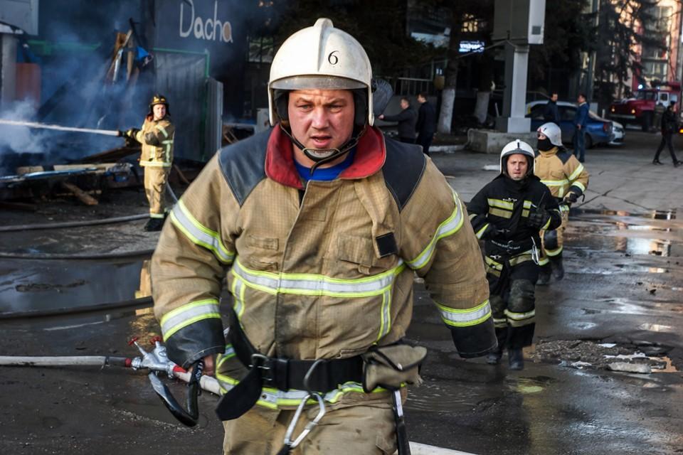 В тройку самых опасных профессий ожидаемо вошли пожарные