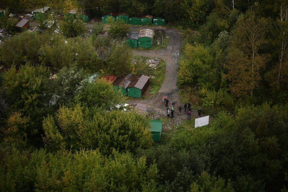 Сейчас так выглядит территория будущего парка. Фото: Мэрия Новосибирска