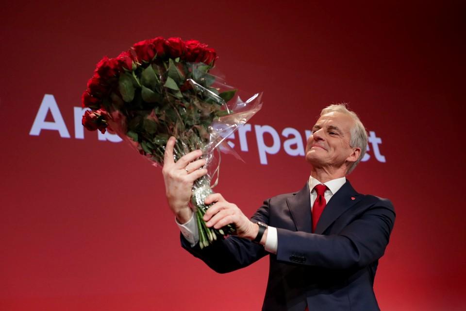 Лидер Лейбористской партии Норвегии Йонас Гар Стоере