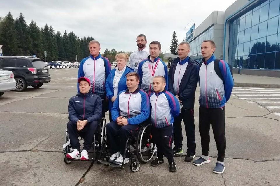 Алтайские паралимпийцы