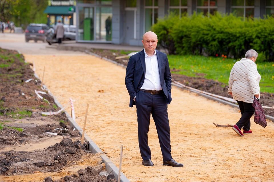 Юрий Парахин на этот раз встретится с жильцами многоэтажек Зареченского микрорайона