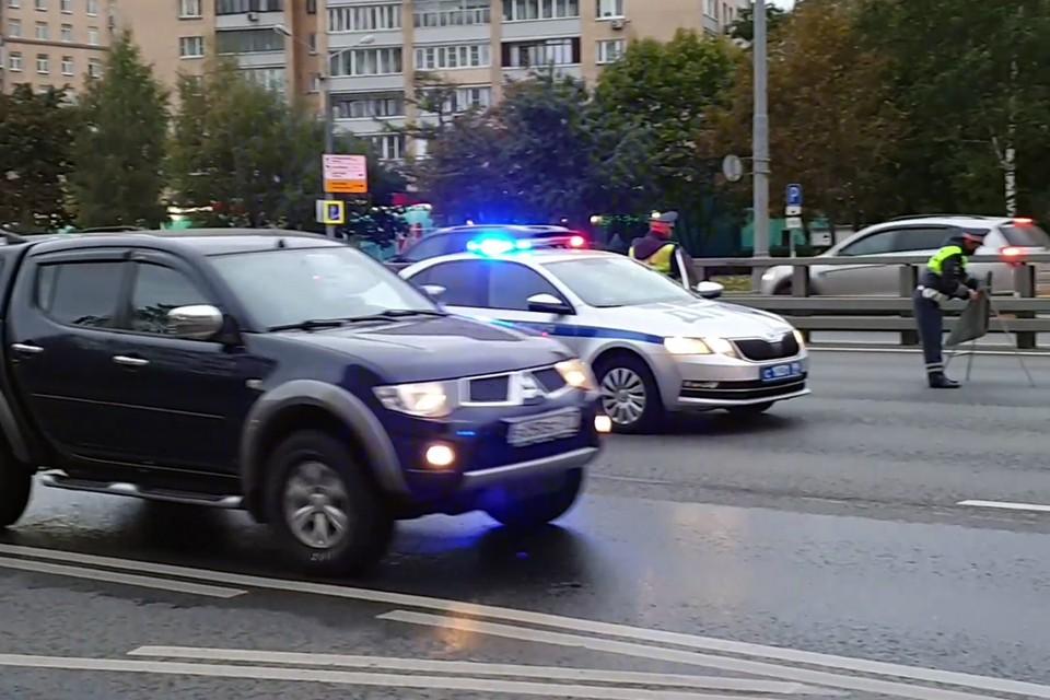 Виновник аварии сразу после случившегося скрылся с места ДТП