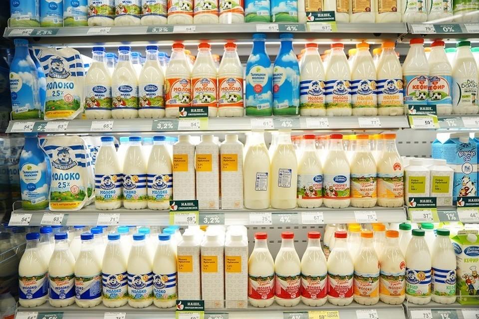 В Свердловской области цена за литр молока выросла с 51,74 рубля до 53,12 рубля
