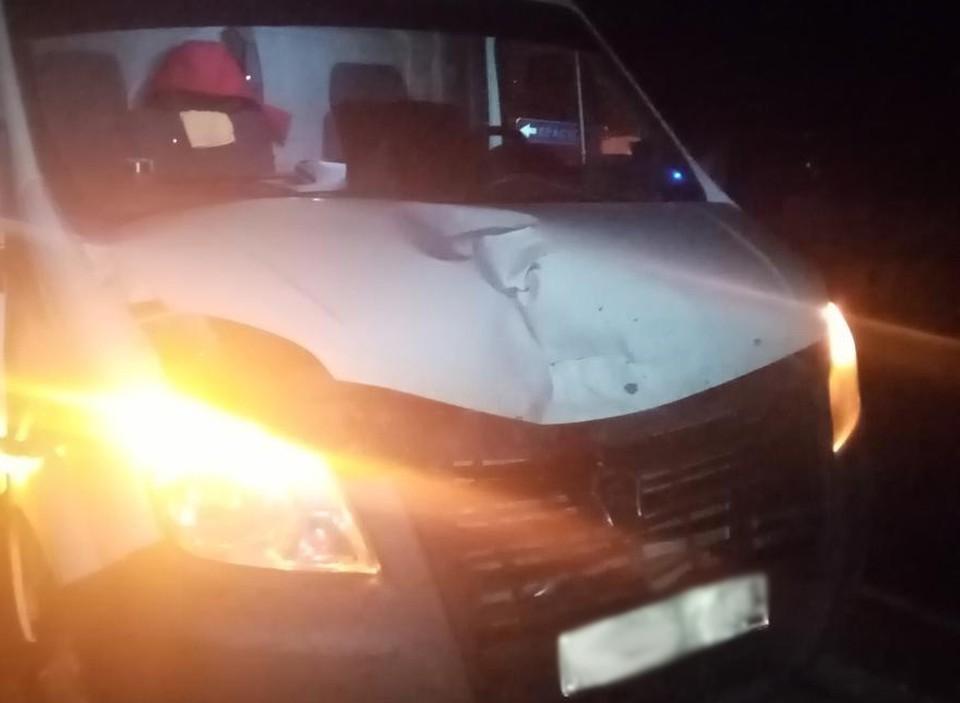 Женщина скончалась на месте. Фото: 1-й отдел УГИБДД по Удмуртии