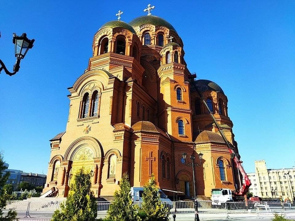 Открытие собора Александра Невского состоится 19 сентября.