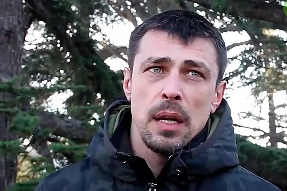 Россиянин Александр Франчетти. Фото: кадр видео