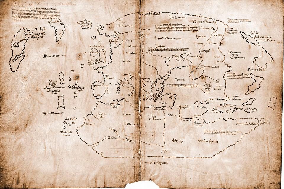 Древнейшая карта Америки Виланда. Фото: Yale University Press