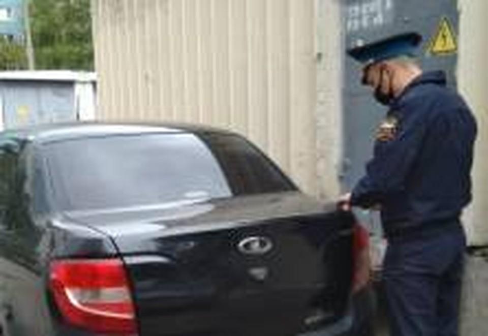 У должника есть 10 дней, чтобы вернуть свой автомобиль. Фото: ФССП по Самарской области