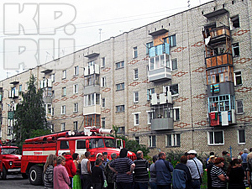 Жильцов пострадавшего дома разместят в гостинице