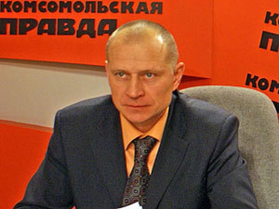 Директор «Земельной кадастровой палаты по Иркутской области» Константин Литвинцев.