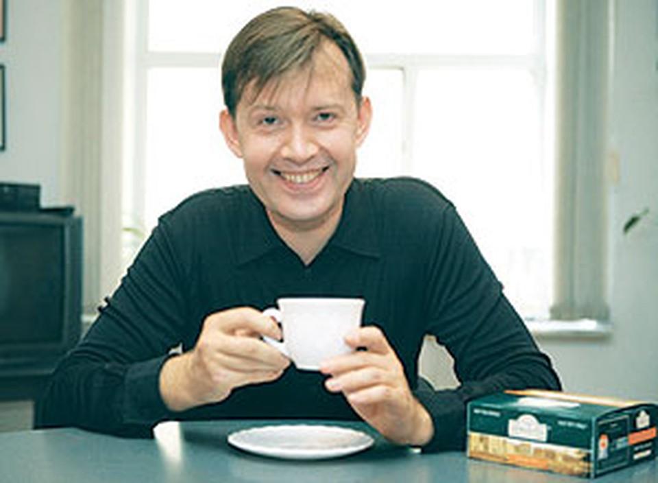 Олег Погудин: - Под хороший чаек и беседа хороша!