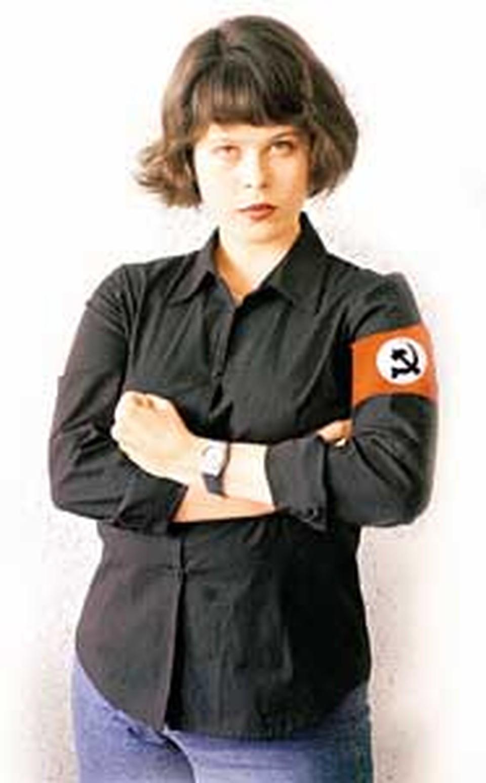 В 2002 году Ульяна Скойбеда «вступала» в НБП. Что она там делала? Практически ничего...