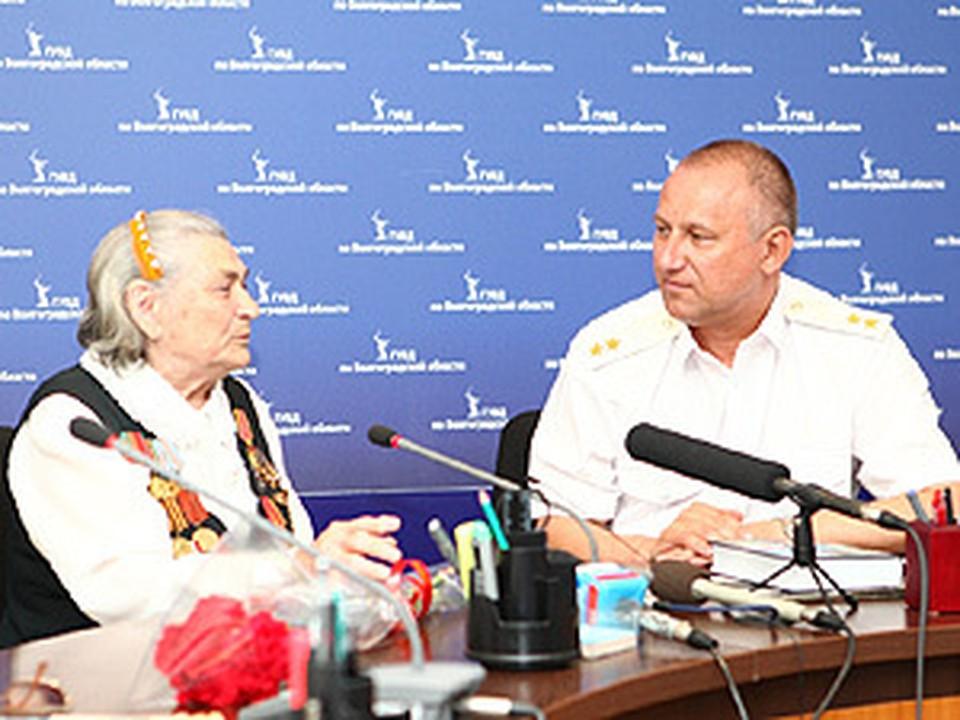 Мария Филипповна Лиманская встретилась с начальником Главка.