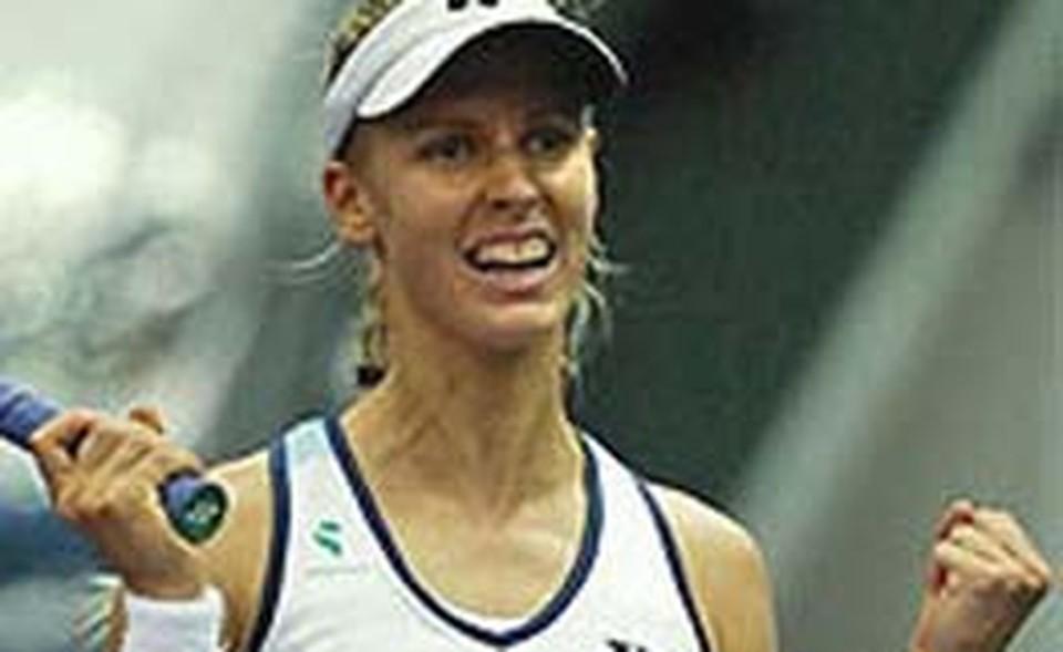 Олимпийская чемпионка Игр в Пекине-2008 Елена Дементьева