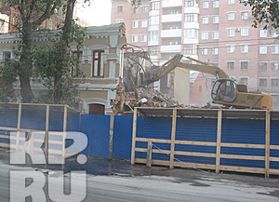 Дом Перелыгиной разрушили 17 августа.