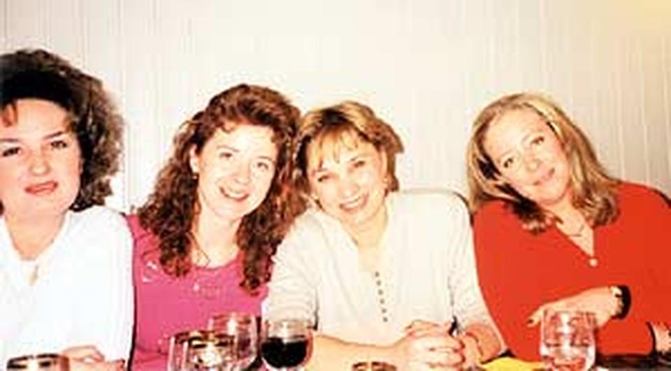 «Сестры Федоровы» (слева направо): Ольга, Элина, Ирина и Юлия.