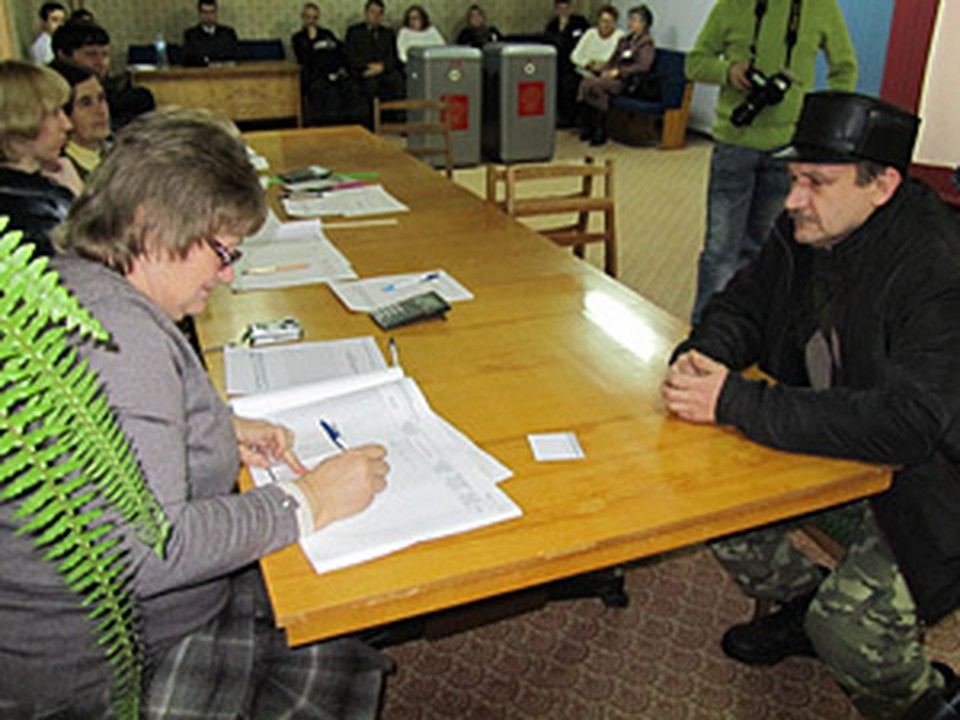 На выборы пришли 54 процента жителей Курской области.