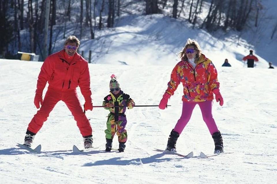Отдых зимой в подмосковье на лыжах