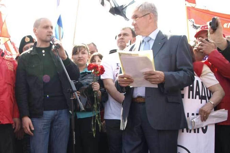 Сергей Удальцов специально приехал в Ульяновск.